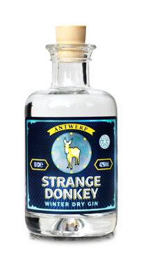 Strange Donkey Wintergin Limited Edition Mini 10cl