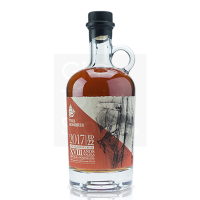 Tres Hombres Porto Dominicano 18 Years 2017 Edition 22 Rum 70cl