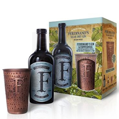 Ferdinand's Saar Gin 50cl Copper Mug Giftbox