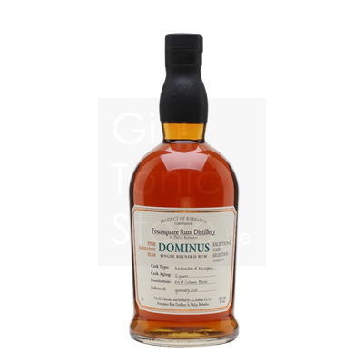 Foursquare Dominus 10 Years Single Blended Rum 70cl