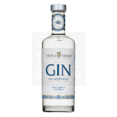 Triple Three 100% Juniper Berry Gin 75cl