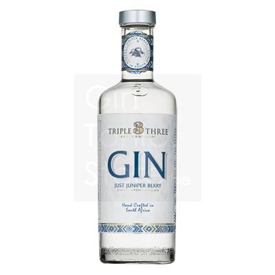 Triple Three 100% Juniper Berry Gin 43% 75cl