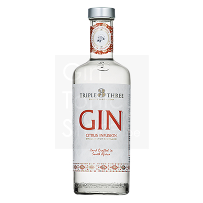 Triple Three Citrus Infusion Gin 43% 75cl
