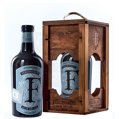 Ferdinand's Saar Highproof Gin 50cl Giftbox