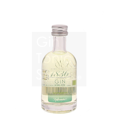 1836 Belgian Organic Barrel Aged Gin Mini 5cl