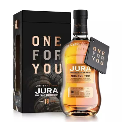 Isle of Jura One For You 2018 18 Years Limited Edition Whisky 52.5% 70cl