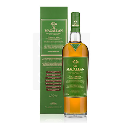 The Macallan Edition No 4 Single Malt Whisky 70cl