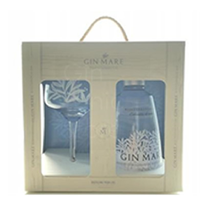 Gin Mare 70cl Glass Giftpack