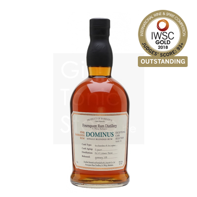 Foursquare Dominus 10 Years Single Blended Rum 56% 70cl