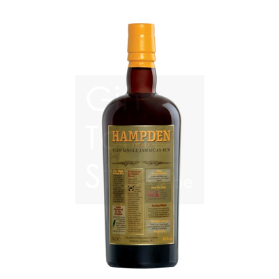 Hampden Estate Pure Single Jamaican Rum 46% 70cl