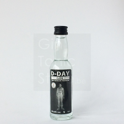 D-Day Gin Mini 4cl