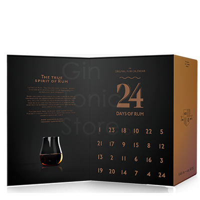 24 Days of Rum Calendar 2018 Edition Giftbox