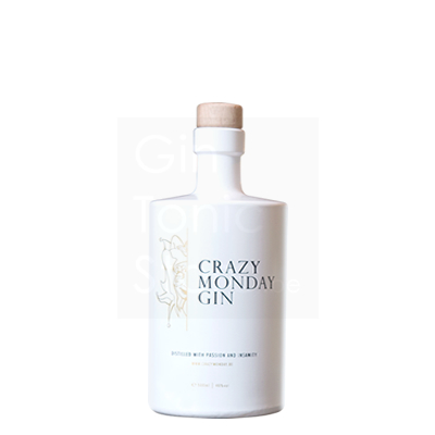 Crazy Monday Gin 48% 50cl + gratis glas