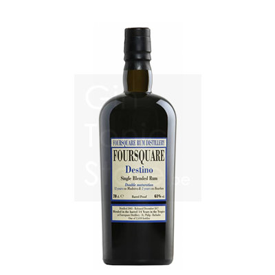 Foursquare Destino 2003 Single Blended Rum 61% 70cl