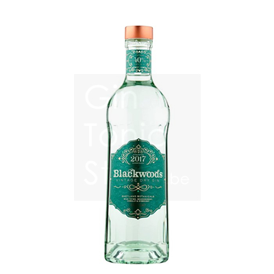 Blackwoods Vintage Dry Gin 2017 40% 70cl