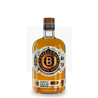 Braeckman 10 Years Single Grain Jenever 50cl
