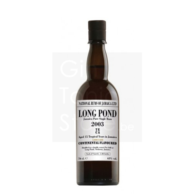 Long Pond 2003 TECA 15 Years Rum 70cl 63°