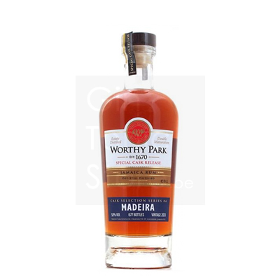 Worthy Park 2013 5 Years Madeira Finish 4 Rum 70cl 58°