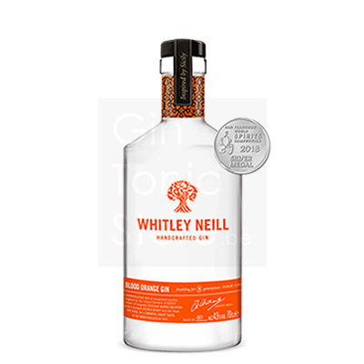 Whitley Neill Blood Orange Gin 70cl