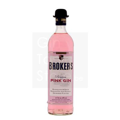 Broker's Pink Gin 40% 70cl