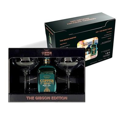 Copperhead The Gibson Martini Giftbox