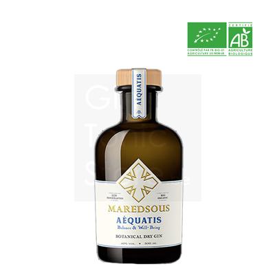 Maredsous Aéquatis Bio Gin 50cl + gratis glas