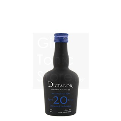Dictador Rum 20 Years Mini 5cl