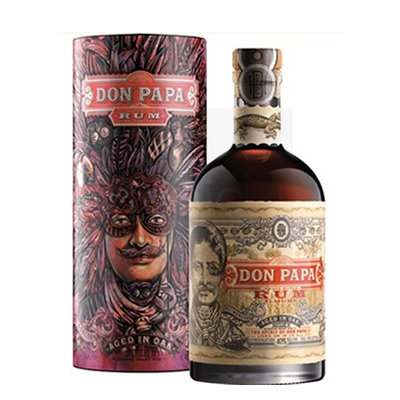 Don Papa Rum 7 Years 70cl Limited Edition Giftbox 2018