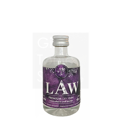 Law Premium Dry Gin Mini 5cl