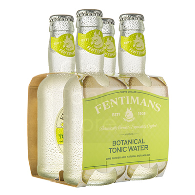 Fentimans Botanical Tonic Water 4x200ml