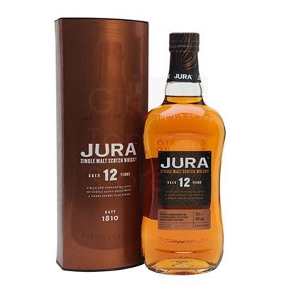 Jura 12 Years Whisky 70cl