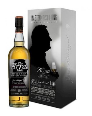 The Arran Malt James MacTaggart 10th Anniversary Edition Whisky 54.2% 70cl