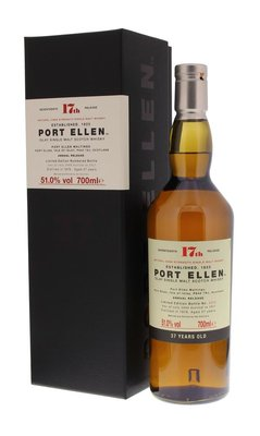 Port Ellen 37 Years Old 17th Special Release 2017 Whisky 51% 70cl