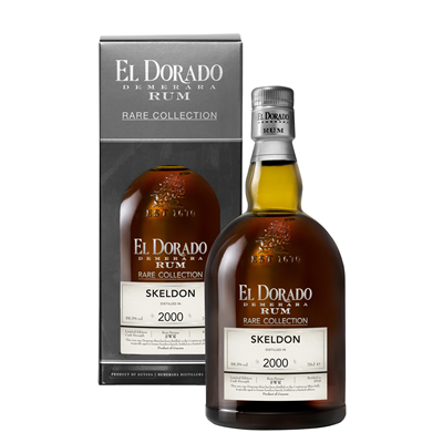El Dorado Rare Collection Skeldon 2000 18 Years Old Rum 58,3% 70cl