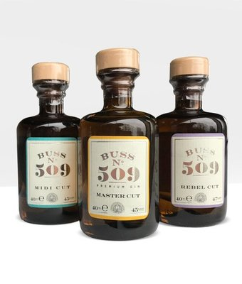 BUSS N°509 Midi Cut Gin Mini 5cl