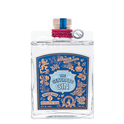 The General's Gin 43% 75cl