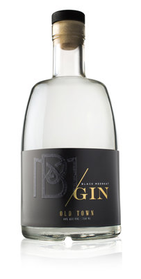 Black Meerkat Old Town Gin 44% 75cl + 4pack tonic GRATIS!