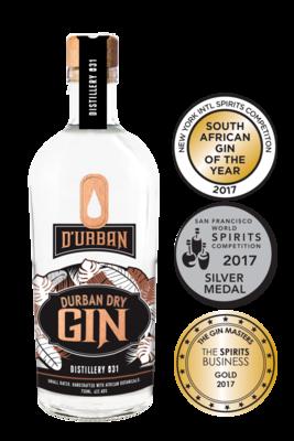 Durban Dry Gin 43% 75cl