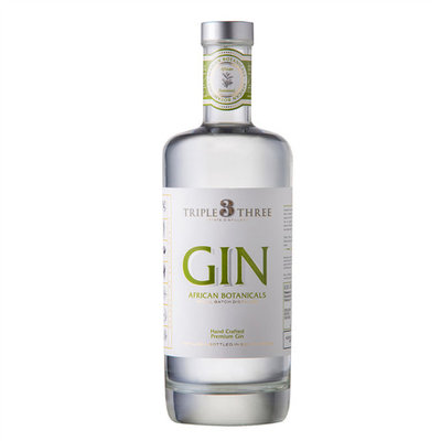 Triple Three African Botanicals Gin 43% 75cl