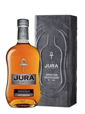 Isle of Jura Superstition Tin Box Whisky 43% 70cl