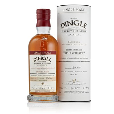 Dingle Single Malt Batch N°4 Whisky 46,5% 70cl