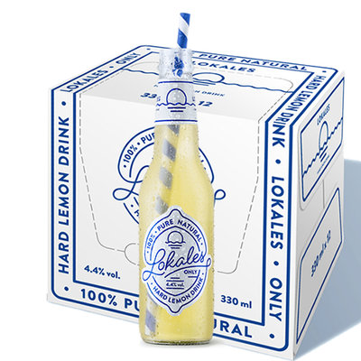 Lokales Hard Lemon Drink 4.4% 12x33cl