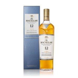 The Macallan 12 Years Triple Cask Single Malt Whisky 40% 70cl