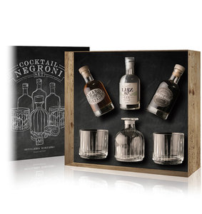 Marzadro Negroni Cocktail Set 3x20cl