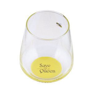 Save The Queen Glas