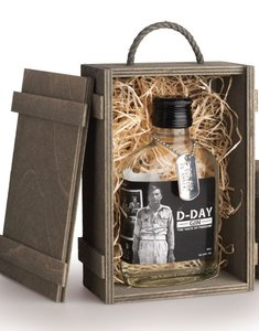 D-Day Gin 40,4% 20cl Giftbox