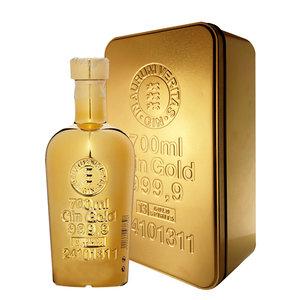Gold 999.9 Gin 40% 70cl Gold Bullion Giftbox