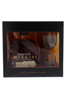 Barcelo Imperial Rum 38% 70cl Giftbox