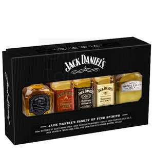 Jack Daniel's Tennessee Whisky Miniset 5x5cl