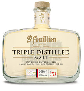 St-Feuillien Triple Distilled Malt 46% 50cl